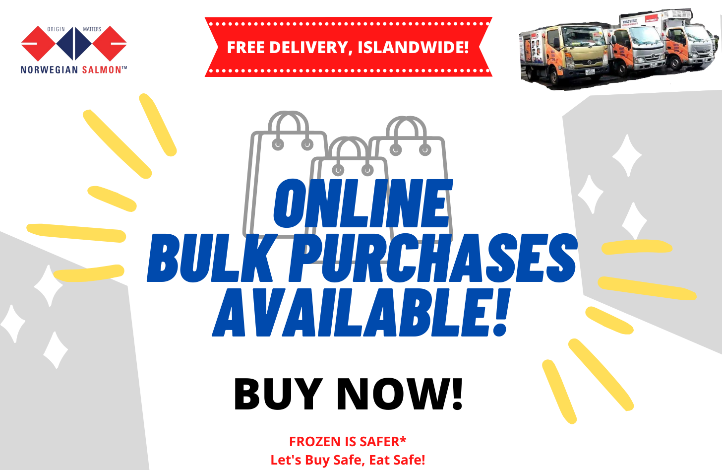 FREE DELIVERY, ISLANDWIDE!!!